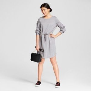 ❄️A New Day Fleece Sweatshirt Tie Waist Dress SML